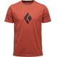 Black Diamond Climb Icon Shortsleeve Shirt Men red
